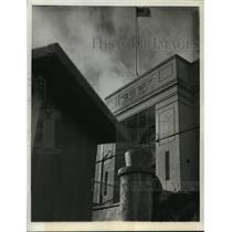 1938 Press Photo Federal McNeil Island Prison In Washington State's Puget Sound