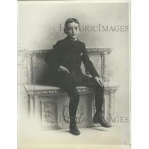 1894 Press Photo Senator Arthur H. Vandenberg at Age of 10 - mjx48726