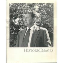 1957 Press Photo George Healy, Jones Picayune Delta - nox23320