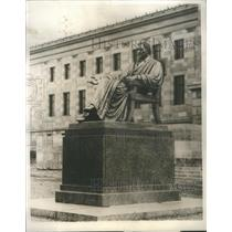 1930 Press Photo Statue of John Marshall Chief Justice of the United States