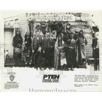 """1993 Press Photo Westward migration attracted all sorts """"The Wild West"""" explains"""