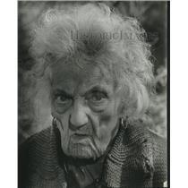 "1963 Press Photo Lylah Tiffany, 85, in ""All the Way Home."" - mjc23275"
