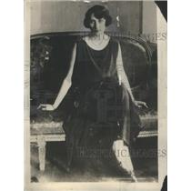 1925 Press Photo Princess Märtha Sweden Sofia Lovisa Norway