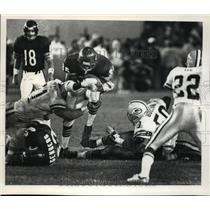 1990 Press Photo Chicago Bears - Neal Anderson in Game with Packers - mjt00568