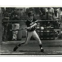 1992 Press Photo Cedarburg High School - Sheila Zillmann, Softball Player