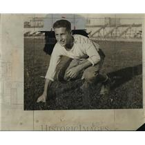 1931 Press Photo Ollie Adelman, Shorewood football veteran