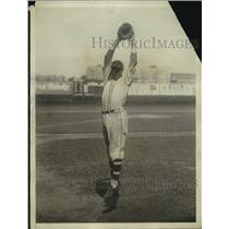 1931 Press Photo Del Bissonette First Baseman For The Brooklyn Dodgers