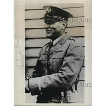 1934 Press Photo Adjutant General Raymond Fleming commands LA National Guard
