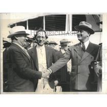 1934 Press Photo President Franklin Roosevelt & Gen. Hugh Johnson- RSA95321