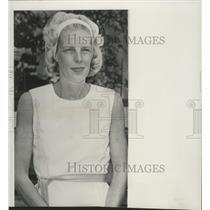 1952 Press Photo Mrs. Walter Schirra, wife of astronaut