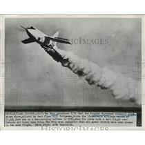1951 Press Photo Douglas Skyrocket research plane breaks altitude record