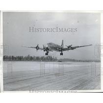 1946 Press Photo United States Army Transport plane during flight