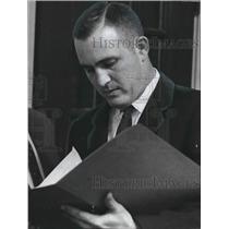 1961 Press Photo Winston Porter, President Chamber of Commerce, Homewood Alabama