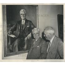 1945 Press Photo Dr. Ludvig Hektoen & Dr. Anton J. Carlson