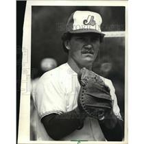 1980 Press Photo Kenosha Twin baseball team manager, Duffy Dyer - mjt01131