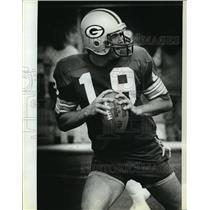 1981 Press Photo Rich Campbell, Green Bay Packers football team's quarterback