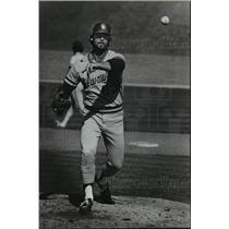1983 Press Photo Milwaukee Brewers - Mike Anderson Pitching - mjt01436