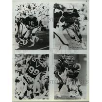 1984 Press Photo Los Angeles Raiders - Jim Plunkett, Other Players - mjt01354
