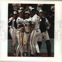 1992 Press Photo World Series - Toronto Blue Jays in Game Three - mjt01235
