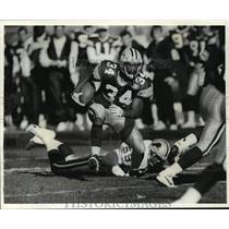 1994 Press Photo Green Bay Packers starting football halfback, Edgar Bennett