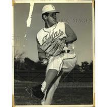 1971 Press Photo Texas baseball pitcher Nati Salazar - sas14592