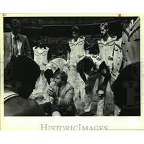 1983 Press Photo San Antonio Spurs basketball coach Morris McHone - sas14026