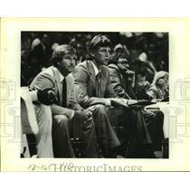 1984 Press Photo San Antonio Spurs basketball coach Morris McHone - sas14029