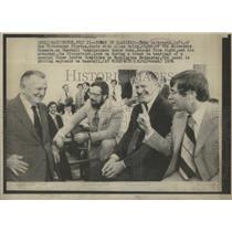 1976 Press Photo John Galbreath Pittsburgh Pirates Baseball Team Owner