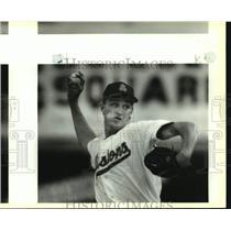 1993 Press Photo San Antonio Missions baseball pitcher Rick Gorecki - sas14039