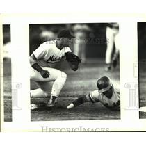 1993 Press Photo Wichita and San Antonio Missions play minor league baseball