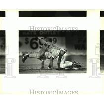 1993 Press Photo The San Antonio Missions and El Paso play minor league baseball