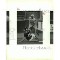 1994 Press Photo The San Antonio Missions and El Paso Diablos play pro baseball