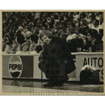 Press Photo New York/New Jersey Nets coach Kevin Loughery - sas14013