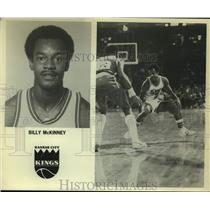 Press Photo Kansas City Kings basketball player Billy McKinney - sas14017