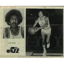 Press Photo Utah Jazz basketball guard Louie Nelson - sas14540