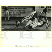 Press Photo San Antonio Missions and Wichita play minor league baseball
