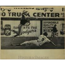 Press Photo San Antonio and Amarillo play minor league baseball - sas14347