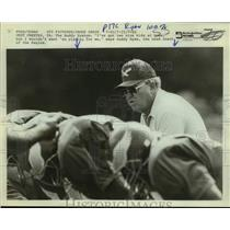 Press Photo Philadelphia Eagles football coach Buddy Ryan - sas14349