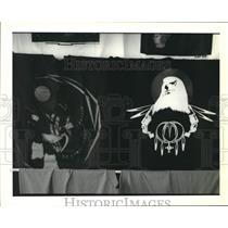 1993 Press Photo Indian tee shirts by the Oklahoma Indians. - nob41229
