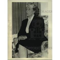 Press Photo Greet Hofmans, friend of Queen Juliana of Netherlands - nob43562