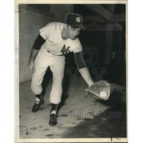 Press Photo New Orleans Baseball, First Baseman, Tookie Gilbert - noo21655