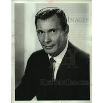 """1964 Press Photo Barry Sullivan to be a guest celebrity on """"You Don't Say!"""""""