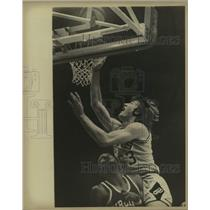 Press Photo The San Antonio Spurs and Virginia Squires play ABA basketball