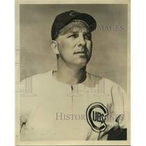 Press Photo Chicago Cubs baseball player Walt Moryn - sas14974