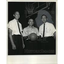 1965 Press Photo Hayden Riley, Sansom coaching staff - abno09442