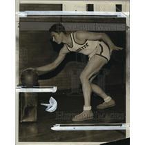 1931 Press Photo South Milwaukee basketball player, Ernie Kukla - mjt04277