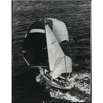 1965 Press Photo Winner of the 27th annual Miami-Nassau Ocean Yacht Race
