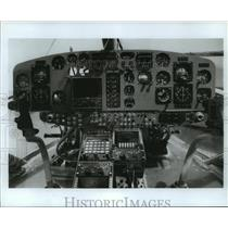 1979 Press Photo Dash of helicopter - hca28044