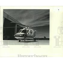 """1979 Press Photo New Sikorsky """"Spirit"""" helicopter at Heliflight Systems"""