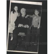 1956 Press Photo United Mine Workers President John Lewis